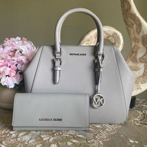 Michael Kors LG satchel & wallet